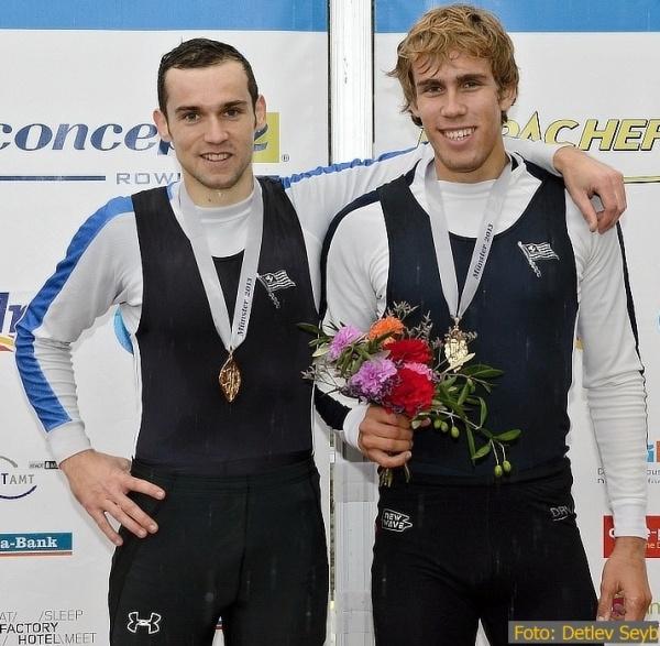 Deutsches Meisterschaftrudern 2013; Mathias Mages, Florian Roller